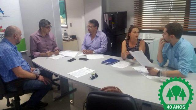 Reunião busca parceria entre ACEF, AEFSUL e IMA