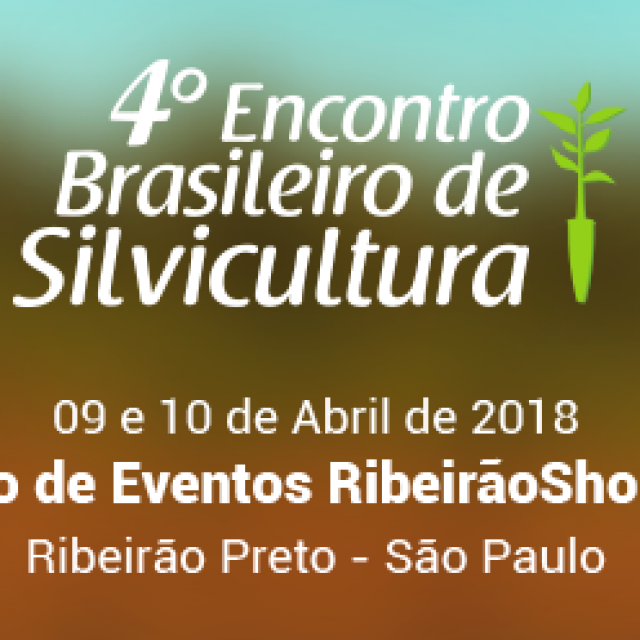 4º ENCONTRO BRASILEIRO DE SILVICULTURA