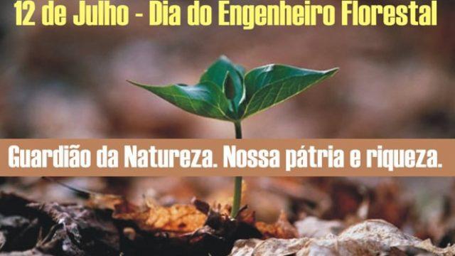 12 DE JULHO — DIA DO ENGENHEIRO FLORESTAL